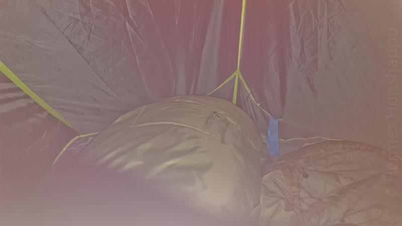 Si ça ce n'est pas un Anschluss sur ma moitié de la tente, je ne sais pas ce que c'est!