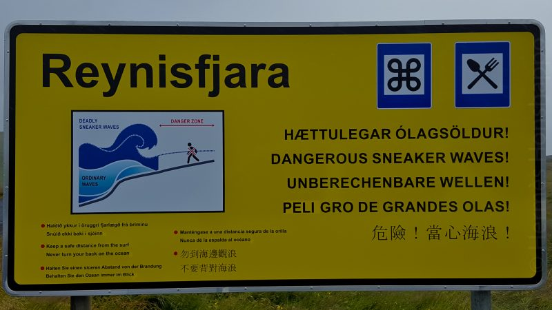 Dangerous Sneaker Waves!