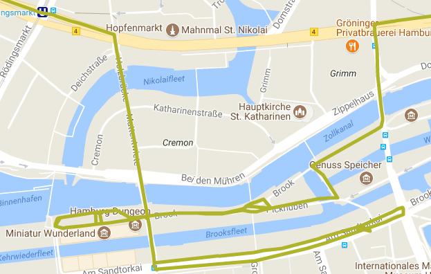Errances dans Hambourg